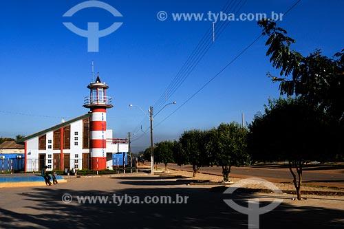 Assunto: Praça em frente ao Farol da Educação / Local: Buriticupú - MA / Data: 08/2008