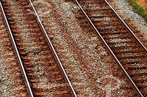 Assunto: Trilho em trecho da Estrada de Ferro Carajás / Local: Entre Ararí e Miranda do Norte - MA / Data: 08/2008