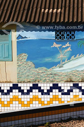 Assunto: Palacio Maracajá (antiga prefeitura) / Local: Buriticupú - MA / Data: 08/2008