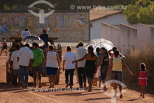 Assunto: Enterro em Bom Jesus das Selvas / Local: MA / Data: 08/2008