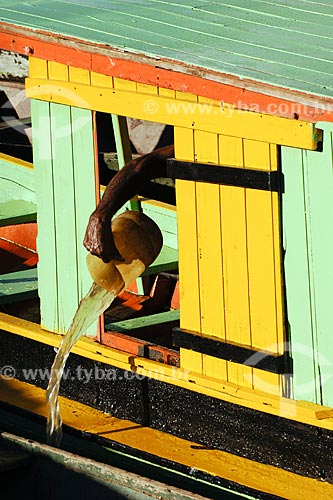 Assunto: Desembarque dos pescadores no Rio Tocantins / Local: Imperatriz - MA / Data: 08/2008