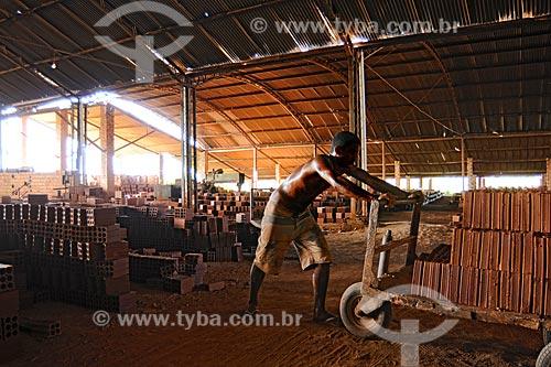 Assunto: Olaria Cerâmica Industrial Bacabeira Ltda , propriedade de Normando MATOS BASTOS / Local: Bacabeira - MA / Data: 08/2008