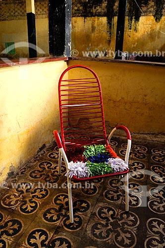 Assunto: Cadeira colorida / Local: Miranda do Norte - MA / Data: 08/2008