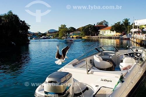 Assunto: Canal da Barra da Lagoa / Local: Florianópolis - Santa Catarina (SC) - Brasil / Data: 14/09/2008