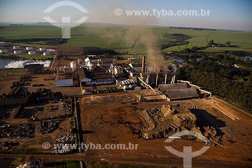 Usina São Martinho de Refinamento de Açúcar e produção de Etanol  - Pradópolis - São Paulo (SP) - Brasil