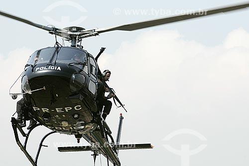 Assunto: Helicóptero da polícia civil / Local: Rio de Janeiro - RJ / Data: 09/2008