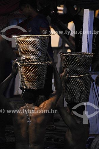 Assunto: Feira do Açaí - Mercado Ver-o-peso / Local: Belém - Pará / Data: Outubro de 2008