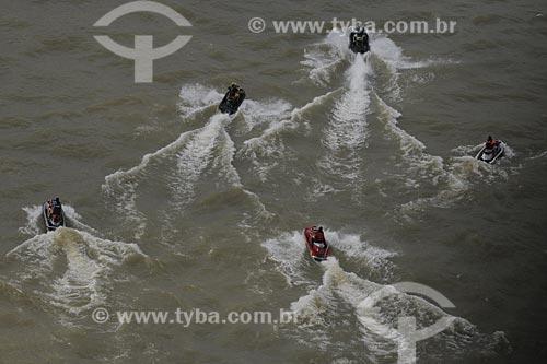 Assunto: Jet Ski - Rio Guajará - Lazer / Local: Belém (PA) / Data: 11 de Outubro de 2008