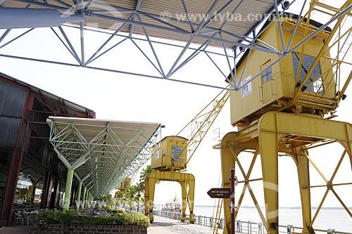 Assunto: Estação das Docas (Companhia das Docas) - Centro comercial, gastronômico e cultural no Porto de Belém / Local: Belém - Pará / Data: 13 de Outubro de 2008