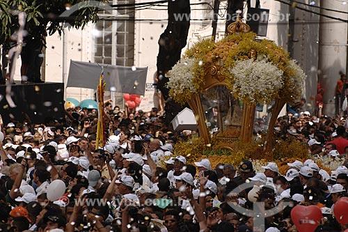 Assunto: Procissão - Círio de Nazaré - Religião / Local: Belém (PA) / Data: 12 de Outubro de 2008
