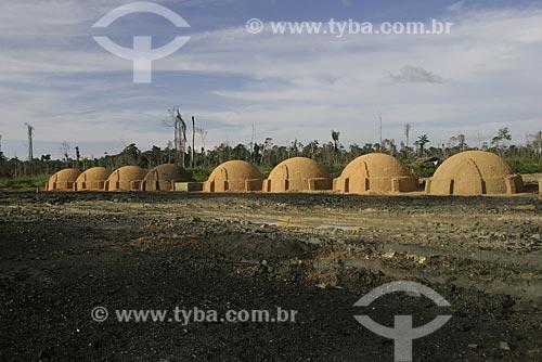 Assunto: Area de carvoaria e desmatamento na Amazonia / Local: Amazônia / Data: 12 de Maio de 2004