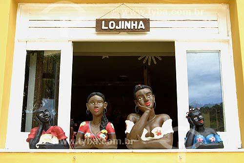 Assunto: Artesanato em Morro de São Paulo - Ilha de Tinharé / Local: Cairu (BA) / Data: 01 de Novembro de 2006