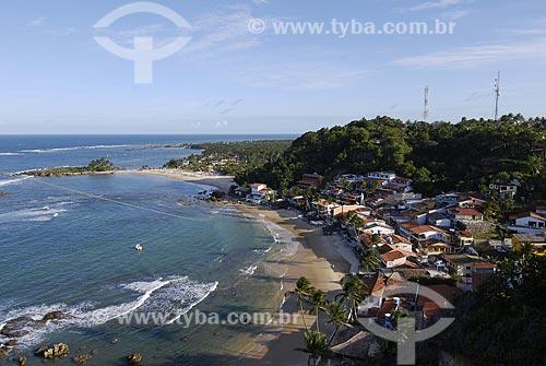 Assunto: Morro de São Paulo - Ilha de Tinharé - vista do morro / Local: Cairu (BA) / Data: 01 de  Novembro de 2006