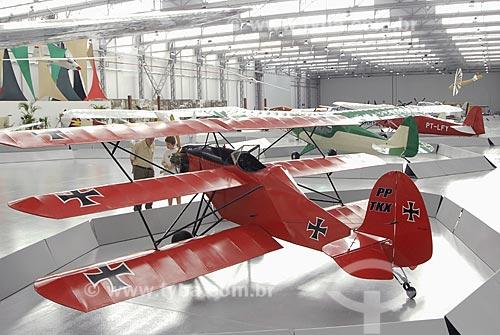 Assunto: Museu Asas de Um Sonho - Museu da Aviação - American Flea Ship - Triplano / Local: São Carlos (SP) / Data: 24 de Novembro de 2006