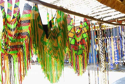 Assunto: Artesanato sul africano / Local: Lesedi - Johannesburg - África do Sul / Data: 11 de Março de 2007