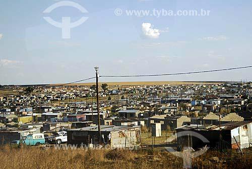 Assunto: Favelas da África do Sul / Local: Kinross - Mpumalanga - África do Sul / Data: 12 de Março de 2007