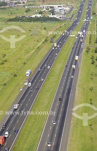 Assunto: Vista aérea da Rodovia Dom Pedro I / Local: Campinas (SP) / Data: 11 de Abril de 2007