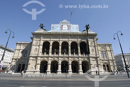 Assunto: Staatsoper - Teatro de ópera de Viena / Local: Viena - Áustria / Data: 21 de Abril de 2007