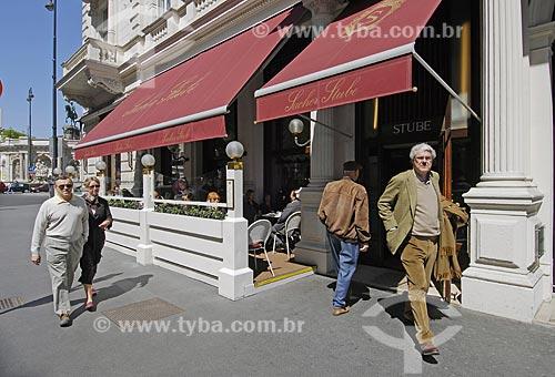 Assunto: Hotel e doceira tradicional no centro de Viena - Sacher Stube / Local: Viena - Áustria / Data: 21 de Abril de 2007