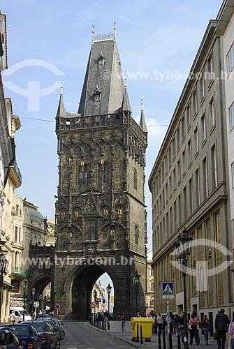 Assunto: Torre do Pó / Local: Praga - República Tcheca / Data: 23 de Abril de 2007