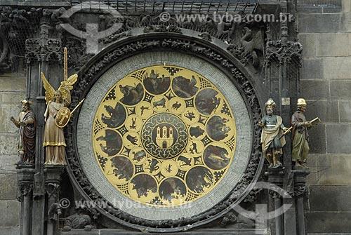 Assunto: Relógio Astronômico da Cidade Velha de Praga / Local: Praga - República Tcheca / Data: 23 de Abril de 2007