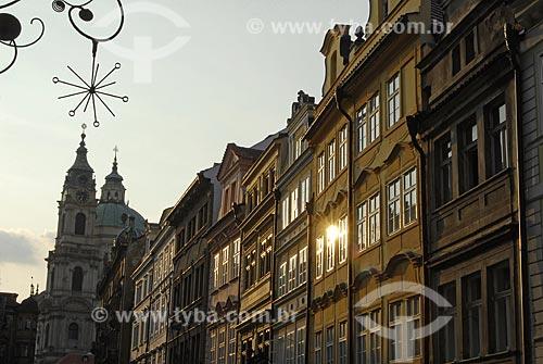 Assunto: Entardecer em Praga / Local: Praga - República Tcheca / Data: 24 de Abril de 2007