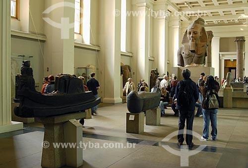 Assunto: Museu Britânico (British Museum) - Busto de Ramsés II - Esculturas do  Egito / Local: Londres - Inglaterra / Data: 26 de Abril de 2007