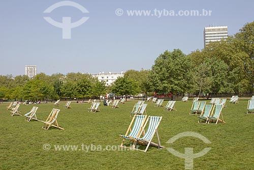 Assunto: Hyde Park / Local: Londres - Inglaterra / Data: 27 de Abril de 2007