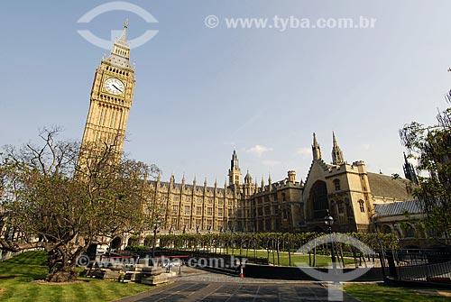 Assunto: Parlamento e Big Ben / Local: Londres - Inglaterra / Data: 28 de Abril de 2007