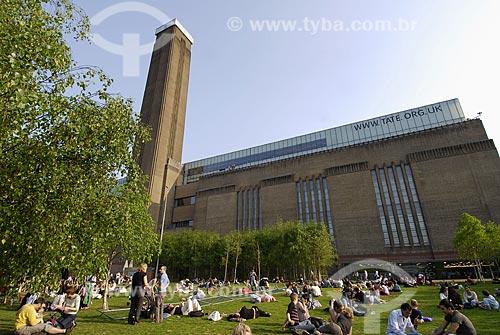 Assunto: Museu britânico de arte moderna (Tate Modern) / Local: Londres - Inglaterra / Data: 28 de Abril de 2007