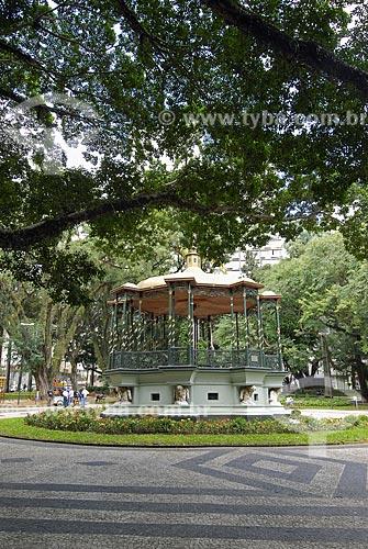 Assunto: Coreto da Praça Carlos Gomes / Local: Campinas - São Paulo (SP) / Data: 12 de Maio de 2007