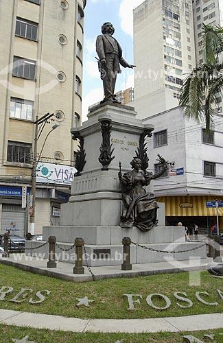 Assunto: Monumento e túmulo de Carlos Gomes / Local: Campinas - São Paulo (SP) / Data: 12 de Maio de 2007