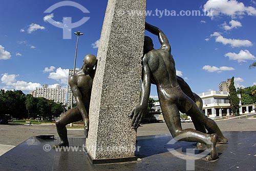 Assunto: Monumento às Três Raças / Local: Goiânia (GO) / Data: 26 de Maio de 2007