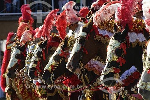 Assunto: Cavalhada na Festa do Divino Espírito Santo em Pirenópolis / Local: Pirenópolis (GO) / Data: 27 de Maio de 2007