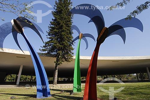Assunto: Esculturas no Parque do Ibirapuera - Miragem I, II e III de Cleber Machado / Local: São Paulo (SP) / Data: 06 de Setembro de 2007