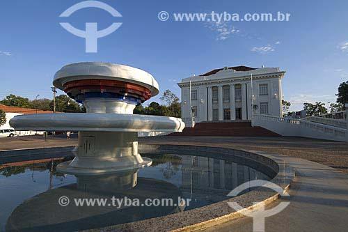 Assunto: Palácio Rio Branco, sede do governo -  Construido em 1930 no estilo neoclássico / Local: Rio Branco (AC) / Data: 16 de Julho de 2008