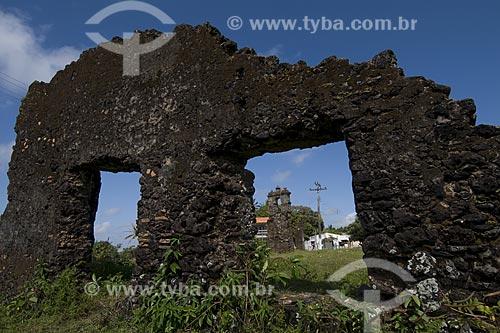 Assunto: Ruinas de uma igreja jesuita do seculo XVII em Joanes, cidade da Ilha de Marajó / Local: Pará (PA) / Data: 22 de Julho de 2008