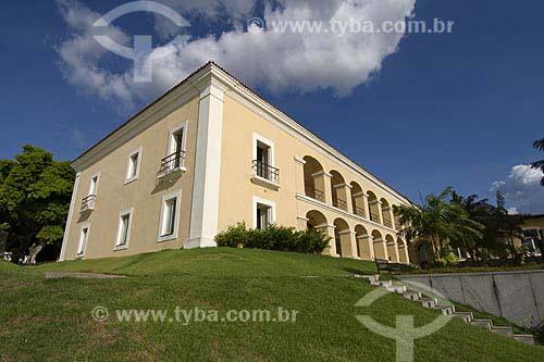 A Casa das Onze Janelas ou Palacete das Onze Janelas é um edifício histórico de Belém construído no século XVIII por Domingos da Costa Barcelar / Local: Cidade Velha - Belém (PA) / Data: 24 de Julho de 2008