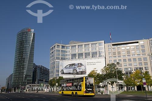 Assunto: Potsdamer Platz, um dos lugares mais modernos de Berlim / Local: Berlim - Alemanha / Data: 27 de Setembro de 2008