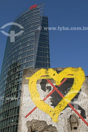 Assunto: Muro de Berlim / Local: Berlim - Alemanha / Data: 27 de Setembro de 2008