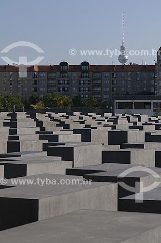 Assunto: Memorial do Holocausto / Local: Berlim - Alemanha / Data: 27 de Setembro de 2008