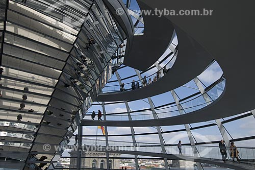 Assunto: Interior do Reichstag / Local: Berlim - Alemanha / Data: 27 de Setembro de 2008