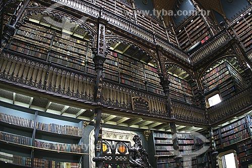 Assunto: Interior do Real Gabinete Português de Leitura / Local: Rio de Janeiro (RJ) / Data: 06 de Junho de 2008