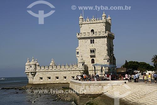Assunto: Torre de Belém / Local: distrito de Belém - Lisboa - Portugal / Data: 24 de Julho de 2006