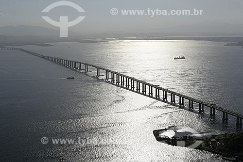 Assunto: Vista aérea da ponte Rio-Niterói / Local: Rio de Janeiro (RJ) / Data: 15 de Agosto de 2007
