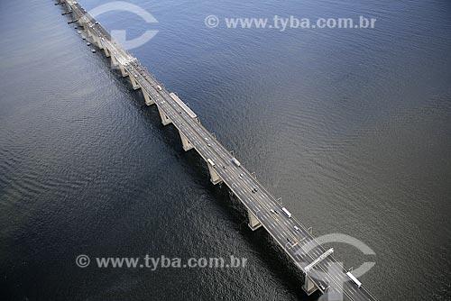 Assunto: Vista aérea da ponte Rio-Niterói / Local: Rio de Janeiro (RJ) / Data: 19 de Setembro de 2008