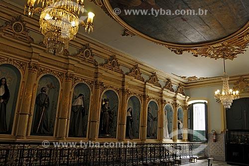 Assunto: Interior da Igreja Ordem Terceira de São Francisco (1702). Estilo: Variado, lembra o barroco plateresco da américa espanhola / Local: Salvador (BA) / Data: 18 de Julho de 2008