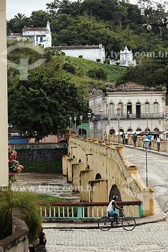 Assunto: Ponte da Conceição (construída em 1857 pelo barão de Taítinga) / Local: Nazaré das Farinhas (BA) / Data: 17 de Julho de 2008