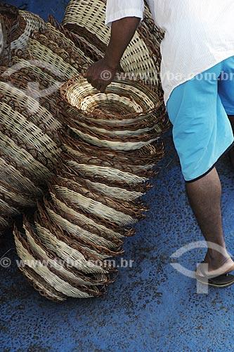 Assunto: Artesanato em Palha / Local: Bom Despacho (BA) / Data: 18 de Julho de 2008