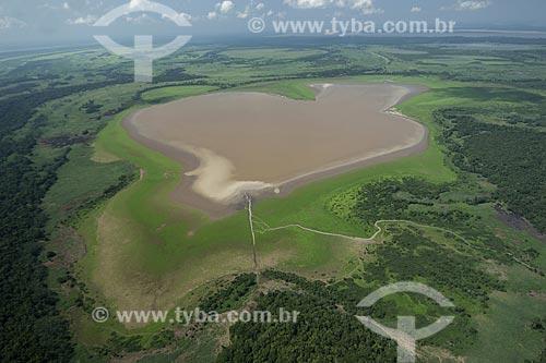 Assunto: Lago de várzea do rio Amazonas, ao sul de Itacoatiara / Local: Amazonas (AM) / Data: 29 de Outubro de 2007